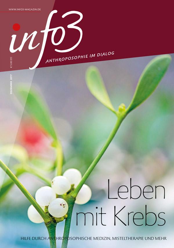 Leben mit Krebs. Zeitschrift Info3, Ausgabe Dezember 2017