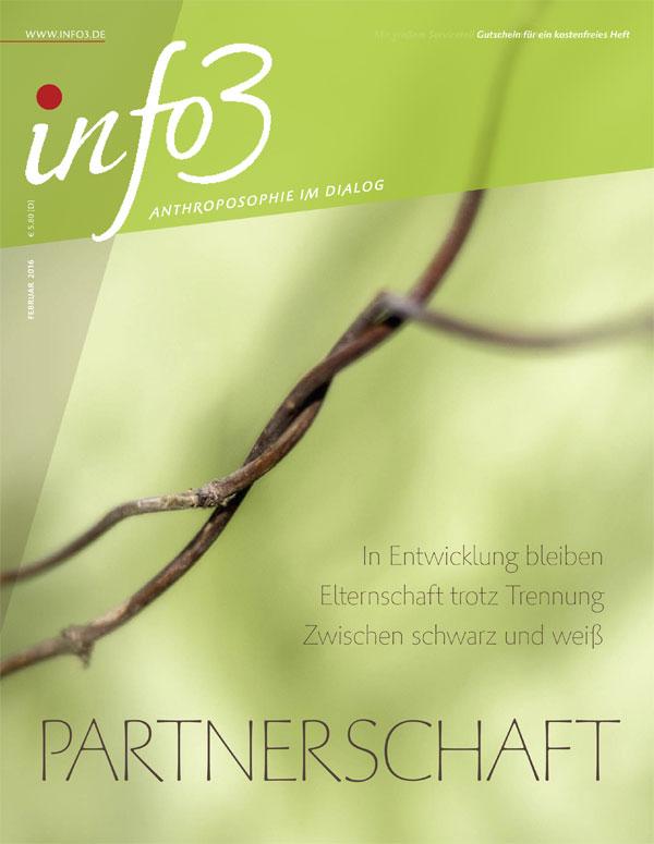 Partnerschaft. Zeitschrift Info3, Ausgabe Februar 2016